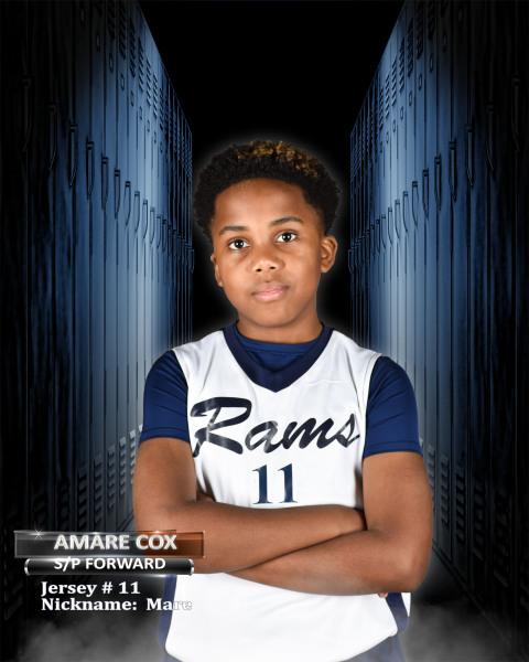 """Amare Cox """"Mare"""""""
