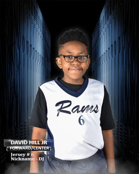 """David Hill Jr. """"DJ"""""""