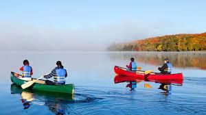 Canoes & Paddle Boat