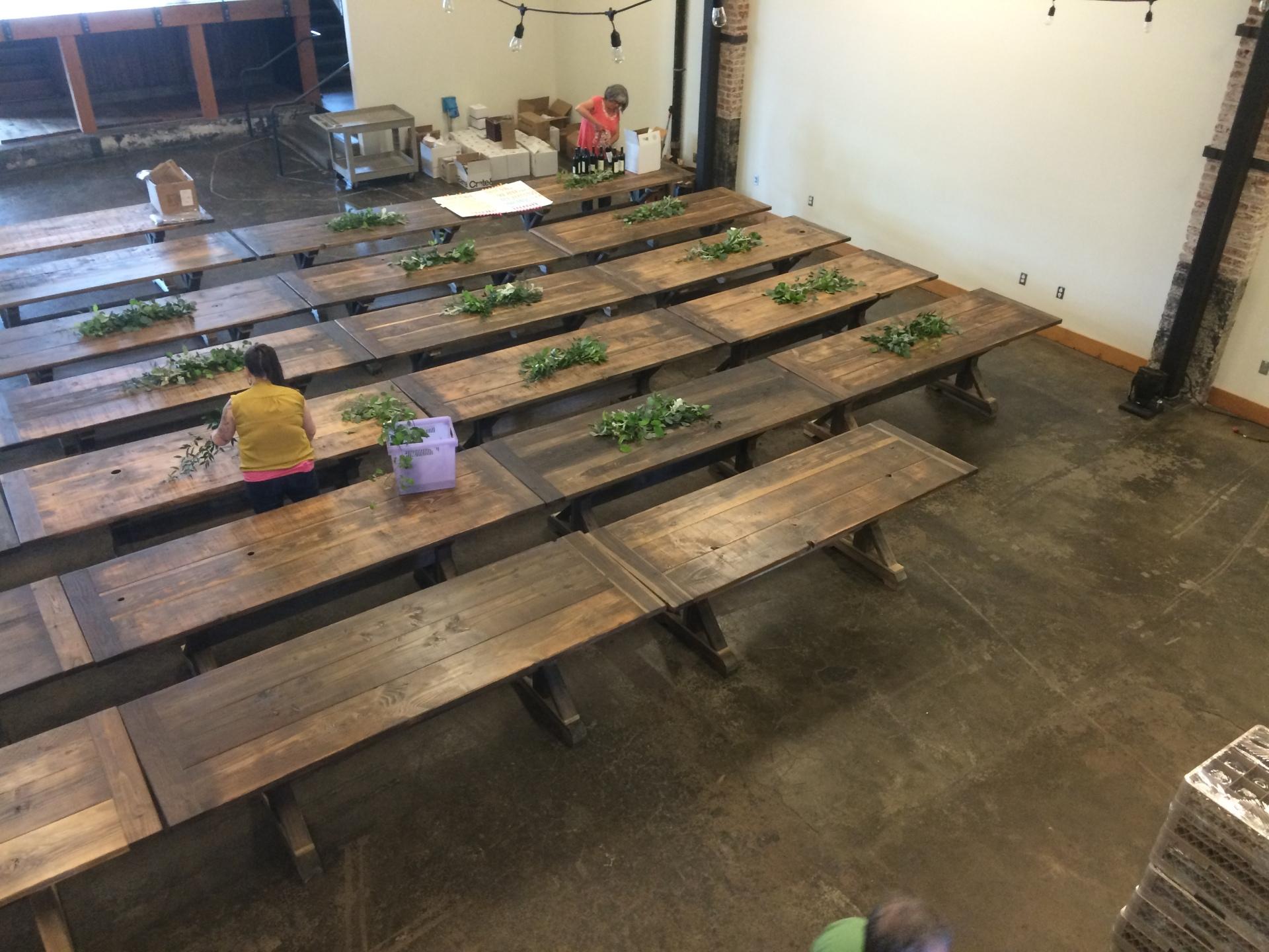 Table Prep, Left Bank Annex