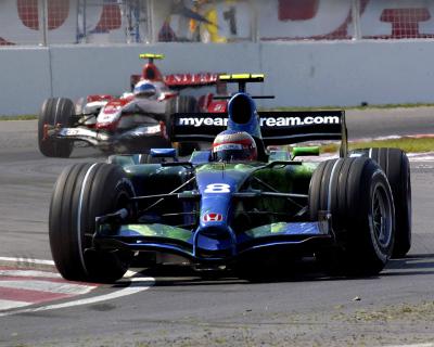 Rubens Barrichello-Honda F1