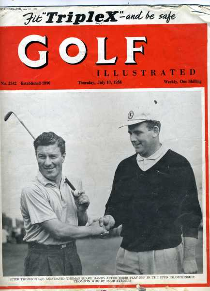 Golf Illustrated July 1958
