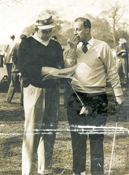 Dave Thomas and Tony Fisher 1957