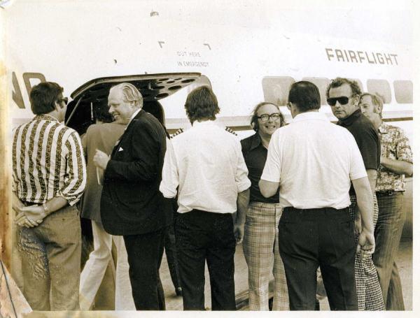 Opening of La Baule 1975