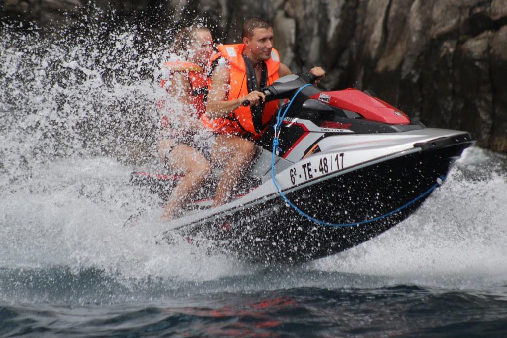 jet ski, tenerife, safari, jetski, las americas, jet bike, dolphins, ocean, caves