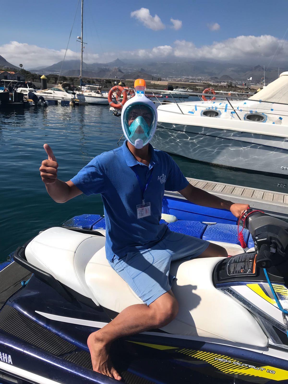 jet ski, tenerife, safari, jetski, las americas, jet bike, dolphins, ocean, cave, snorkeling
