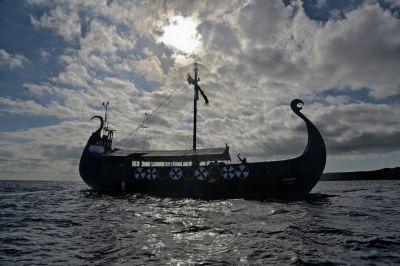 tenerife viking ship ragnarok dolphins