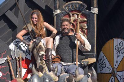 tenerife viking ship ragnarok show