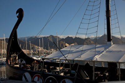 tenerife viking ship ragnarok ocean