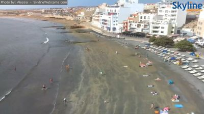 medano, tenerife, beach, city, kite, surf, kiteboard, kitesurf, wind, weather