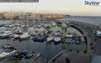 las galletas, beach, tenerife, marina del sur, webcamera, webcam, weather, online
