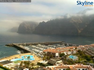 port, marina, los gigantes, puerto santiago, weather, webcamera, webcam, tenerife