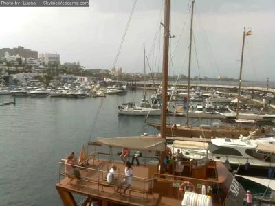 web camera, webcam, tenerife, las americas, port, puerto colon, weather, adeje