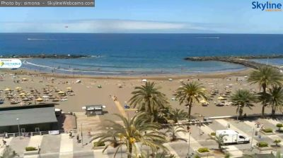 webcam, web camera, tenerife, beach, las americas, troya, weather, online