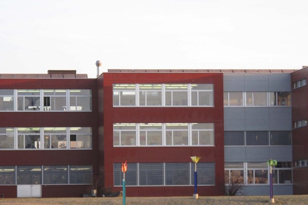 Flachdach Schulhaus Romanshorn