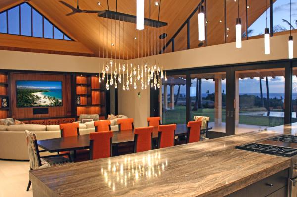 Hawaii Luxury home audio visual design and installation