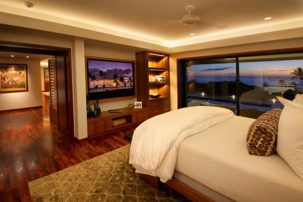 Hawaii custom speaker design and entertainment center furniture