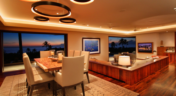 Hawaii Luxury home audio design and installation