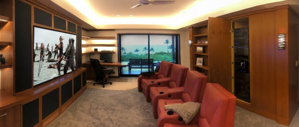 Home theater hawaii, media rooms hawaii