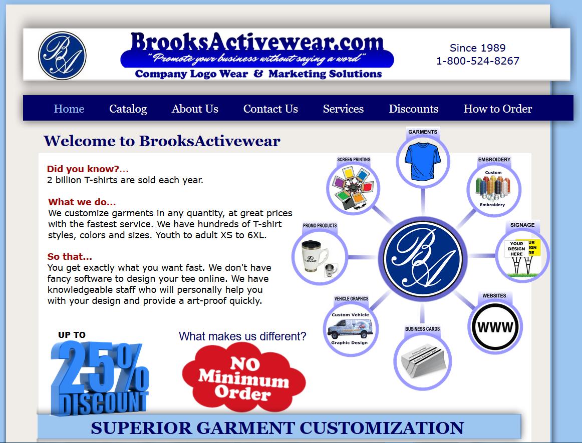 BrooksActivewear.com