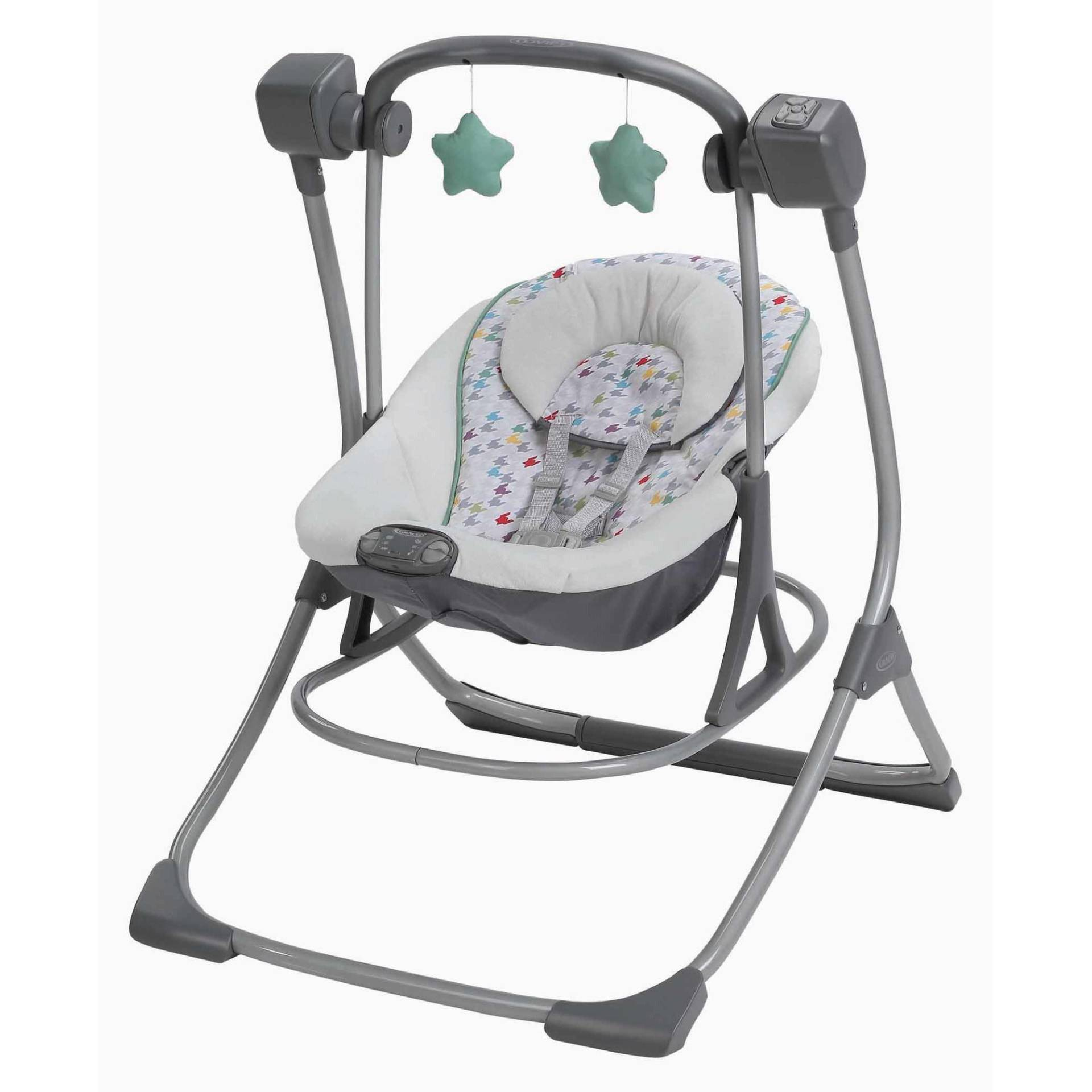 Choose Top Rated Baby Swings: The Fisher-Price Snugabunny Cradle 'N Swing