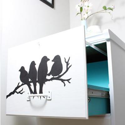 Bird File Cabinet