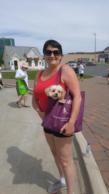 I was tired after our long annual walk for ALS...lol.