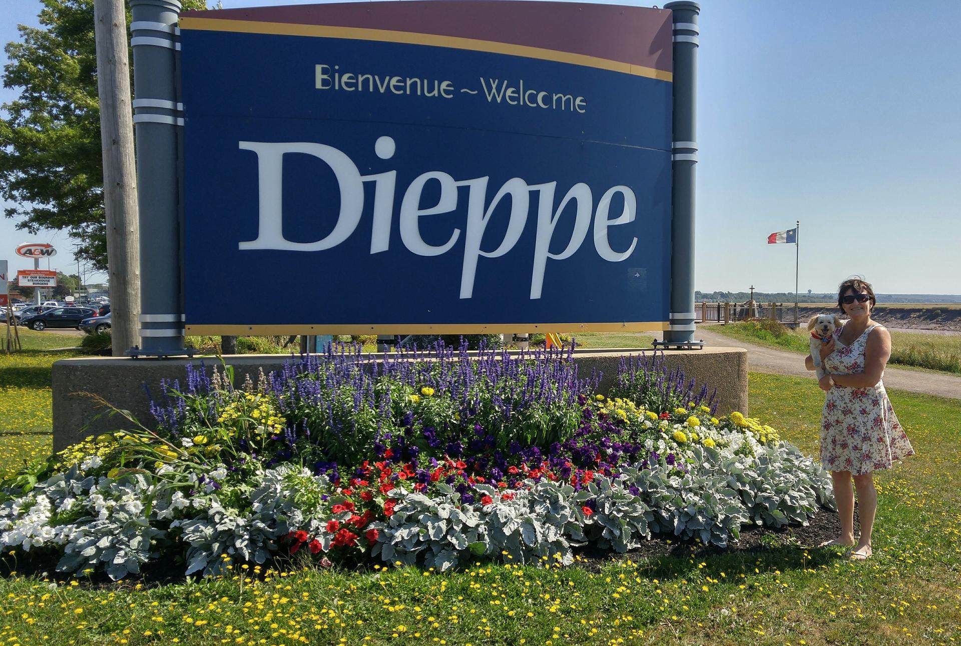 Dieppe visit, 15 Sep 18