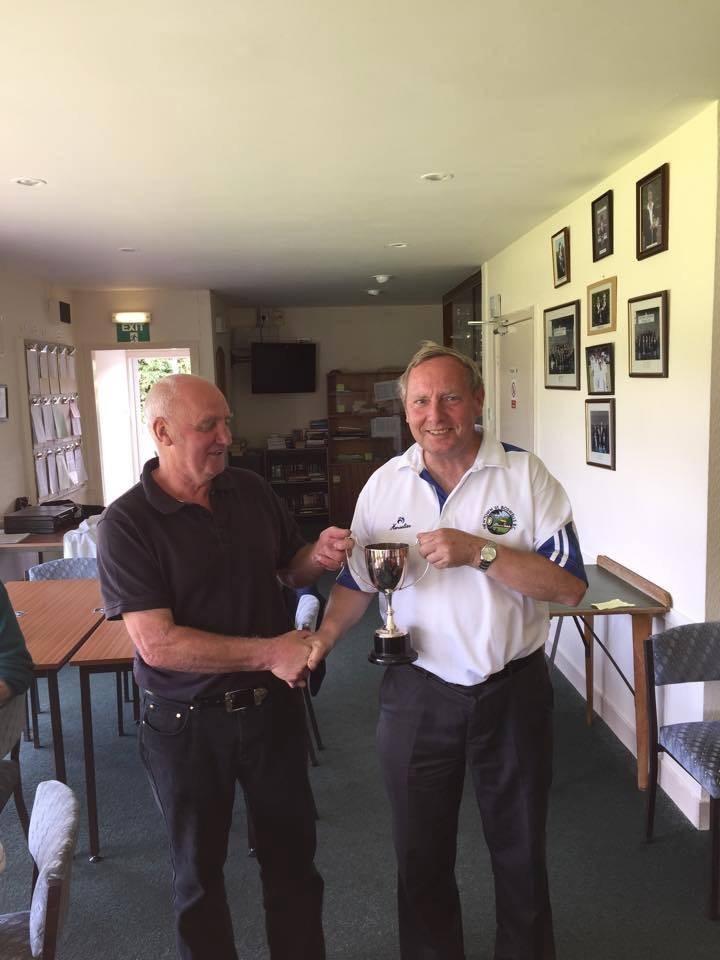 Open pairs winners 2016 Bob Johnston and drew Redburn