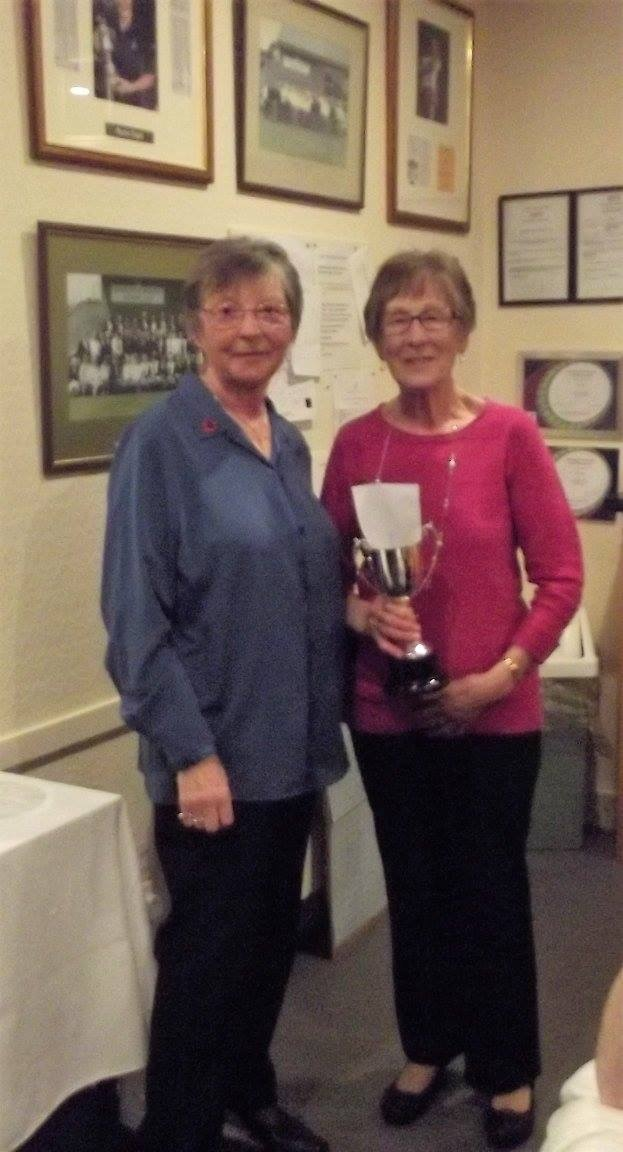 Seniors Club Champion 2017 Anne Blacklock
