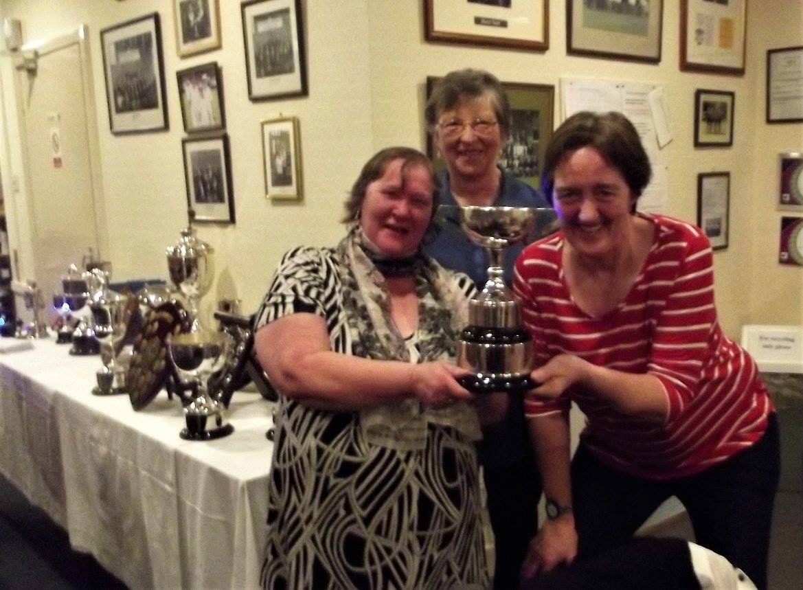 Borders Pairs Champions Sandra Thomson and Marie Todd