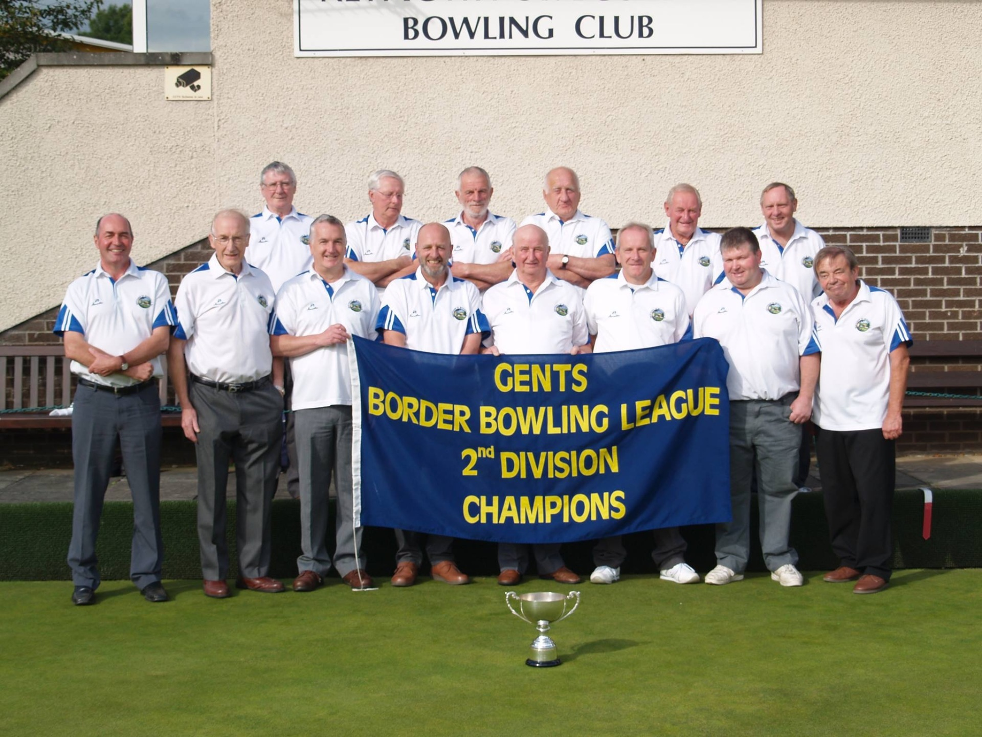 Gents Division 2 Winners 2016