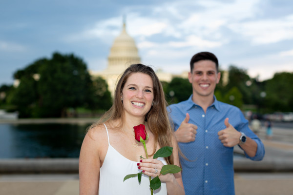 Proposal, Washington DC, Roxie B. Photography - D