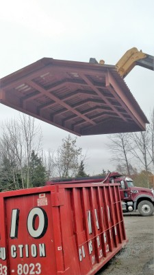 Steel roofs, custom carports, and metal structures.