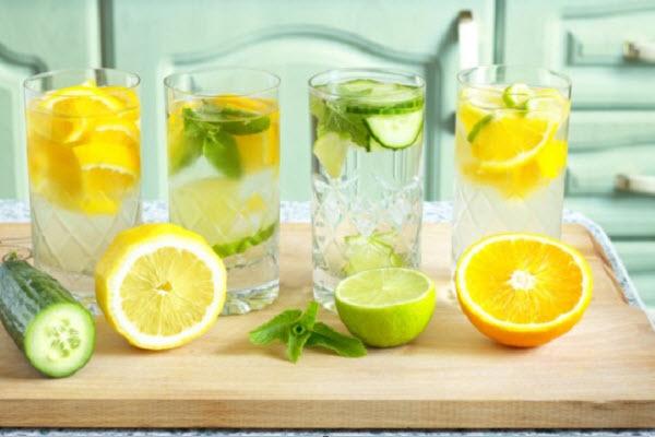 Bí quyết làm nước uống giảm mỡ bụng nhanh nhất