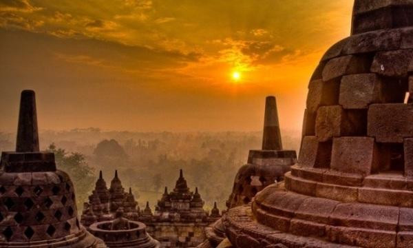 History of Borobudur