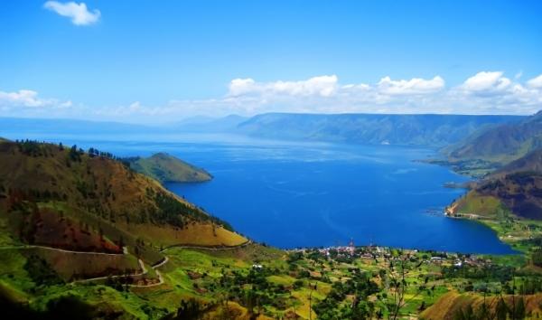 Largest Volcanic Lake