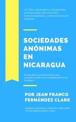 INVERSIÓN. Libro Sociedades Anónimas en Nicaragua