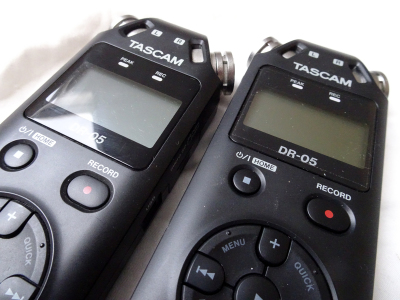TASCAM VOICE RECORDER