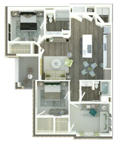 denham springs apartment