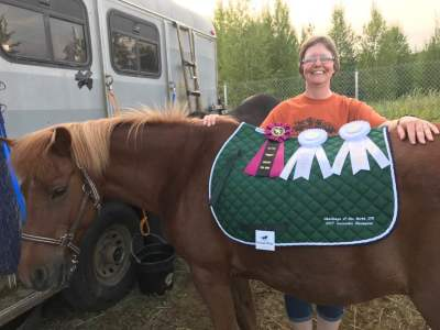 2017 Competitive Trail Ride Icelandic Division Champion