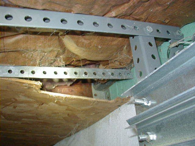 Garage, insulation reversed
