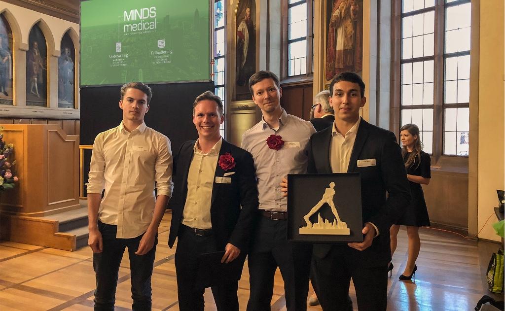 MINDS medical gewinnt den Frankfurter Gründerpreis