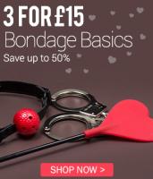 3 for £15 bondage basics