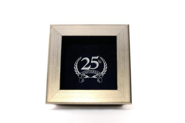 Silver Anniversary  Small $79.00 + $15.00 Shipping