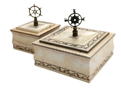 Small and Large Sea Island Boxes
