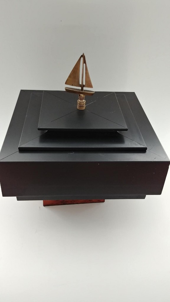 Sleek Black Box with Sailboat $99 + $20 Shipping