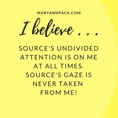 Source's Attention on Me!