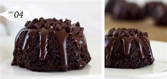 "Mini Bundt Cake 4""x2.5"""