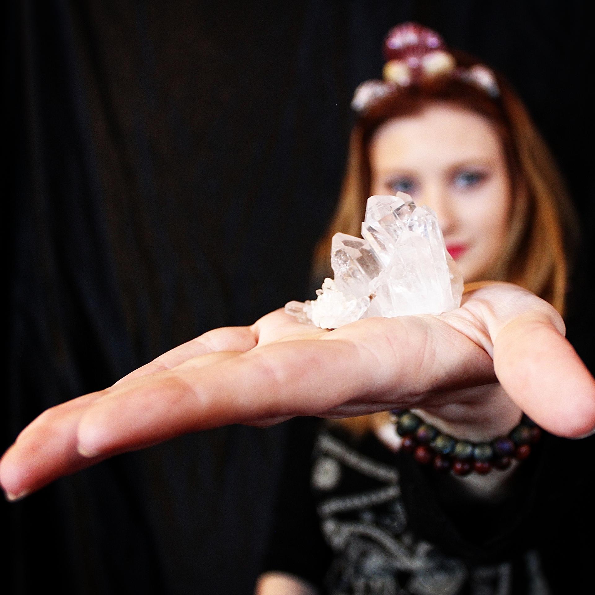 quartz cluster,